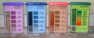 NPK Soil Test Kit: Nitrogen, Phosphorous, Potassium, and pH