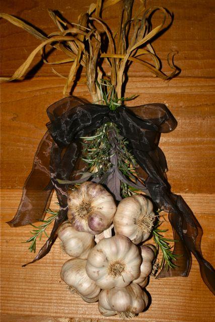 Transylvanian Garlic Braid