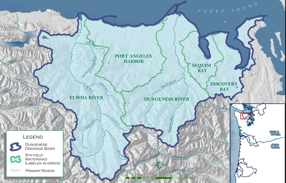 Dungeness River Watershed; Hydrology
