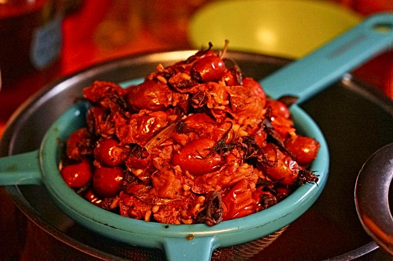 Cooked Rose hips