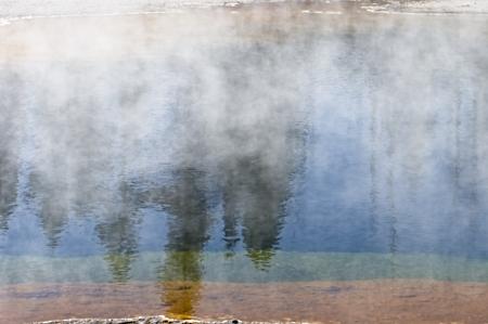 Geologic pool Reflections_Yellowstone
