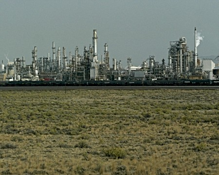 Oil Refinery, Wyoming