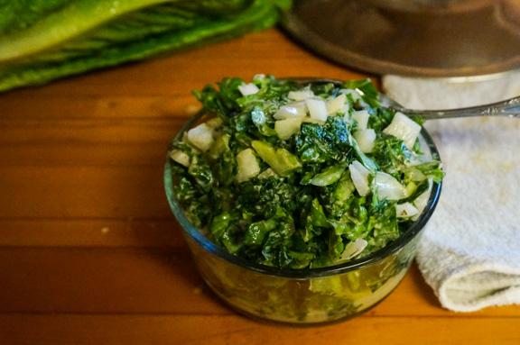 sea lettuce salad