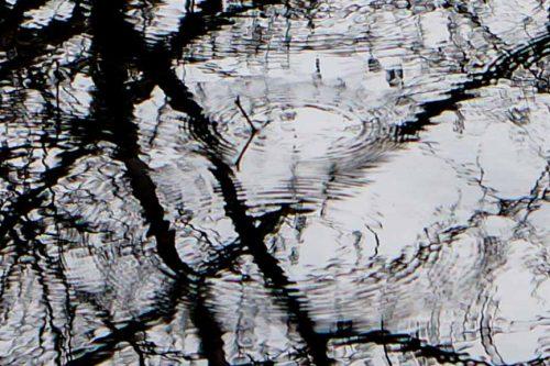Reflections and raindrops