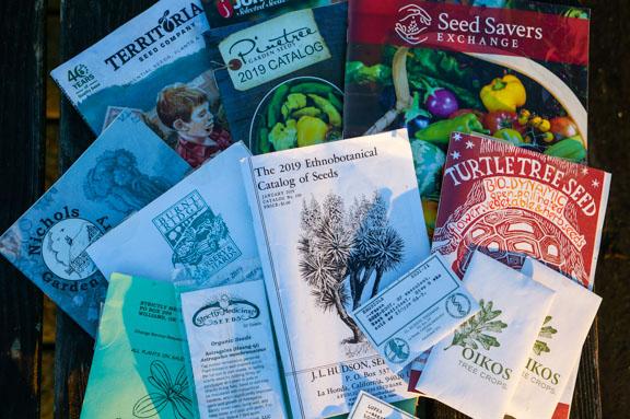 So many seed catalogs